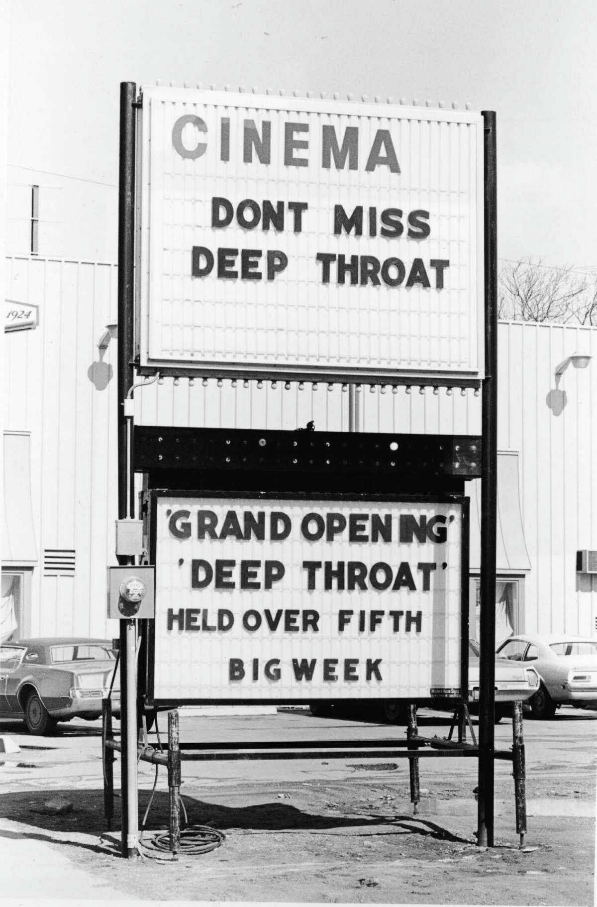 """The pornographic film """"Deep Throat,"""" starring Linda Lovelace made headlines around the world due to its racy content in the early 1970s. The film, directed by Gerard Damiano, was described as """"porn chic"""" and was the first feature-length sex film with a plot."""