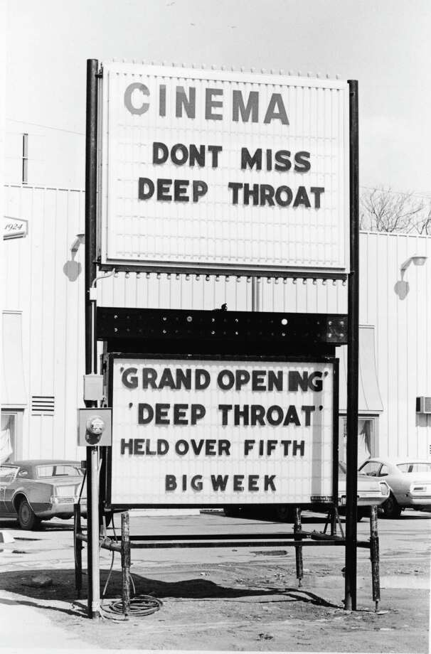 """The pornographic film """"Deep Throat,"""" starring Linda Lovelace made headlines around the world due to its racy content in the early 1970s. The film, directed by Gerard Damiano, was described as """"porn chic"""" and was the first feature-length sex film with a plot. Photo: CNP, Arnie Sachs/CNP/Getty Images / 2004 Getty Images"""