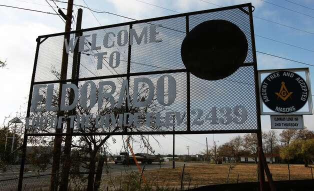The town of Eldorado, Texas has dealt with the turmoil of the Fundamentalist Church of Jesus Christ of Latter-Day Saints and their prophet and leader Warren Jeffs since 2003. Photo: Kin Man Hui, San Antonio Express-News / ©2012 San Antonio Express-News