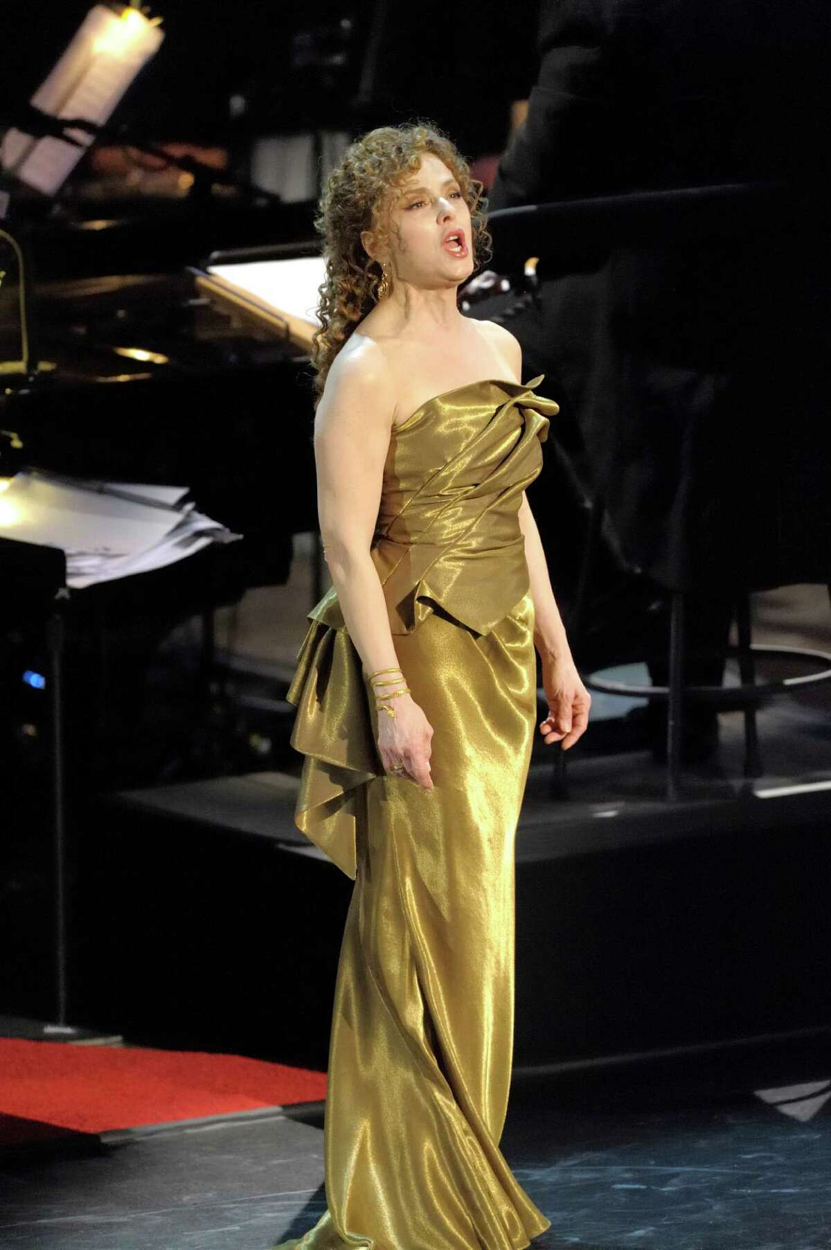 Bernadette Peters will sing Broadway classics, with an emphasis on Stephen Sondheim works, with the Houston Symphony.