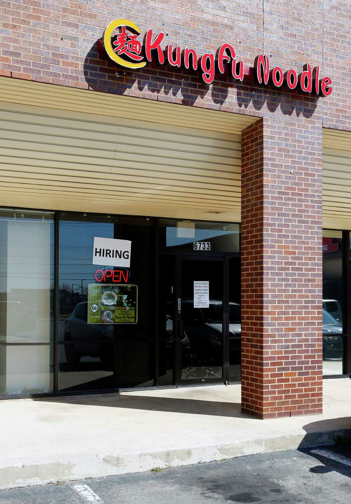 10. Kung Fu Noodle Address: 6733 Bandera Rd.