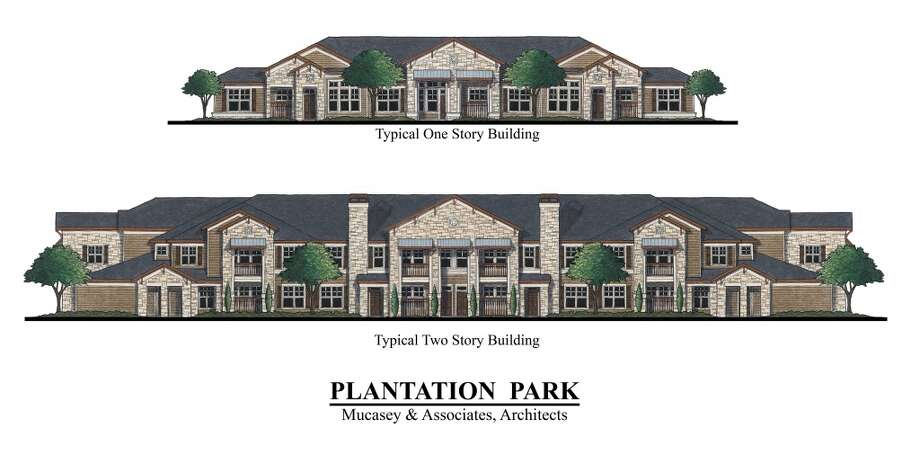 Rendering of Plantation Park by Houston-based BHW commercial real estate firm.  The 238-unit complex will be the first Class A apartment project of its kind to break ground since 2008. Photo: BHW