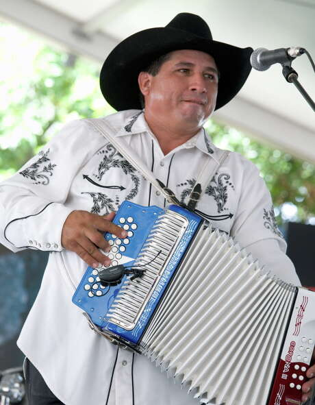 Grammy winning musician David Farias is on his own. Photo: Jamie Couch Karutz /For The Express-News / SAN ANTONIO EXPRESS NEWS