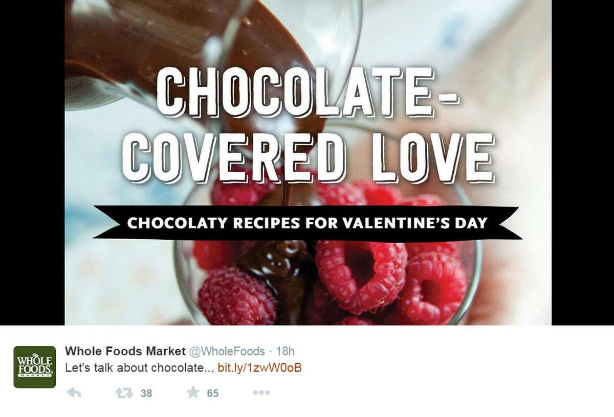 Whole Foods Market @WholeFoods Followers: 3.92 million