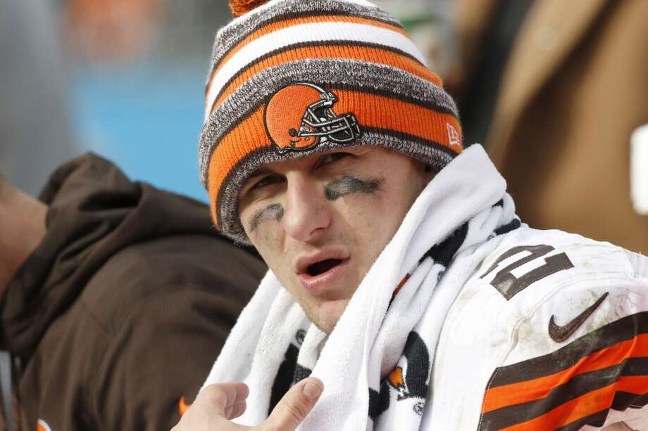 Johnny Manziel can't be a middle-of-the-road player, according to NFL legend Jim Brown. He says it's either boom or bust for the former Texas A&M star.Click through the gallery to relive Manziel's rookie year in Cleveland. Photo: Bob Leverone, Associated Press