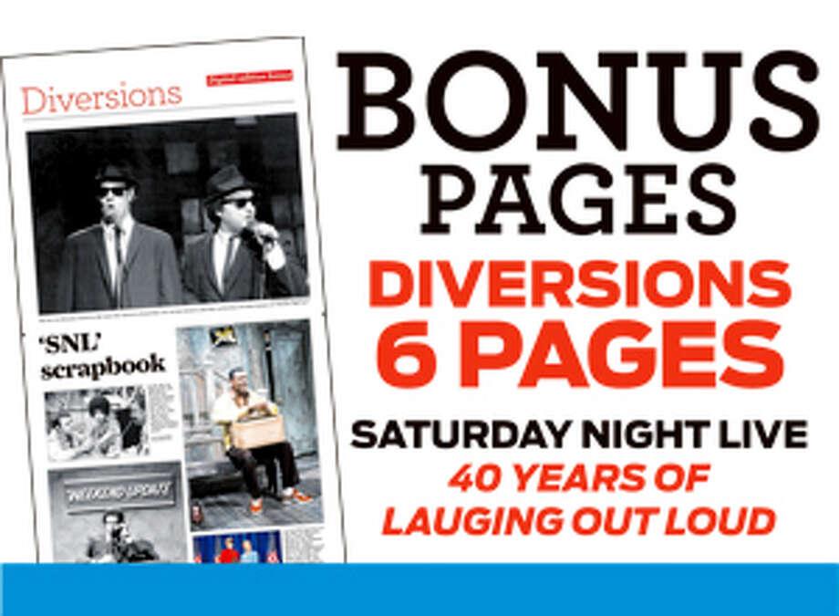 Diversions Bonus Pages print promo for bonus content Photo: Contributed Photo, Bonus Content / Connecticut Post Contributed
