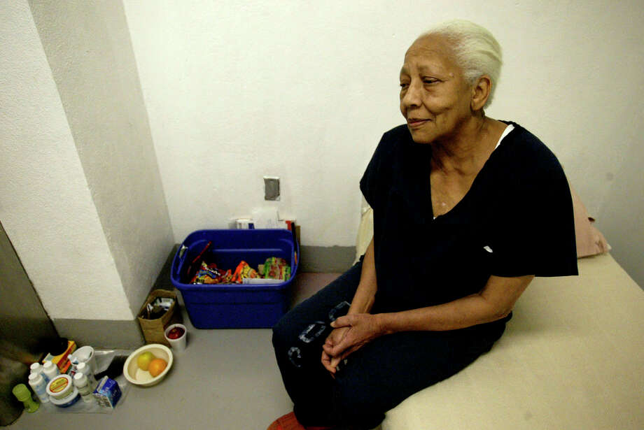 Doris Payne sits in her cell at Clark County Jail in Las Vegas in 2005. The international jewel thief is the subject of a 2013 documentary and was recently spotted cruising for bling in S.F. Photo: JAE C. HONG / AP / AP