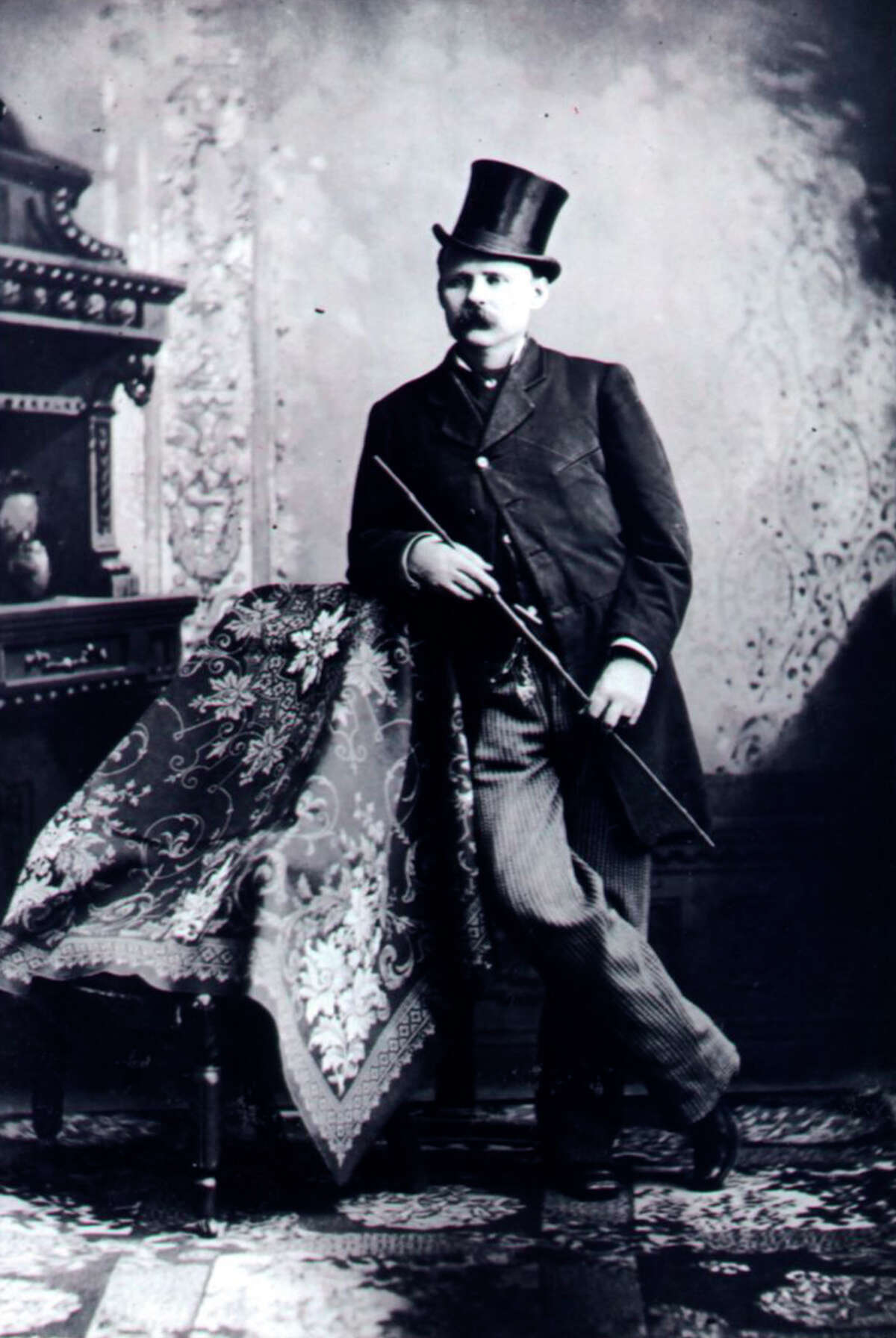 Ben Thompson, one of the most feared pistol fighters of his day, was killed in a San Antonio saloon on March 11, 1884.