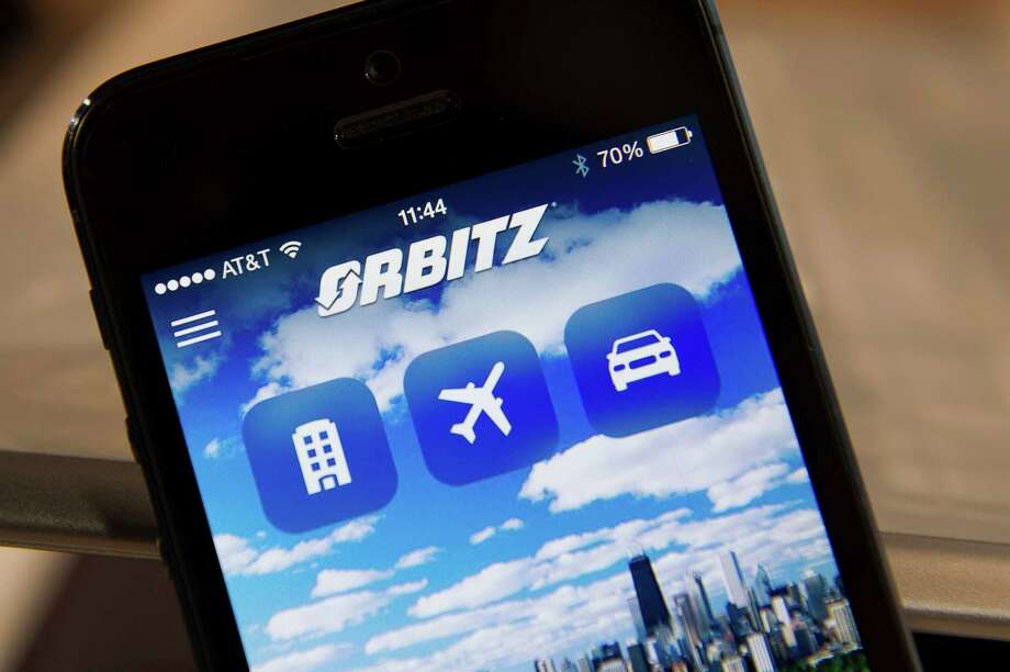 Expedia finance chief  Mark Okerstrom says the Orbitz deal is a way for Expedia to avoid being overtaken by rivals like Google and TripAdvisor. Photo: David Paul Morris / © 2014 Bloomberg Finance LP