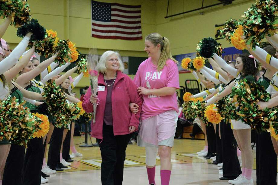 Were you Seen at the Siena Women's Basketball's Pink Zone Game, a benefit for Capital Region Action Against Breast Cancer, held at the college's Alumni Recreation Center on Thursday, Feb. 12, 2015? Photo: Siena College -- Patrick Mann '18