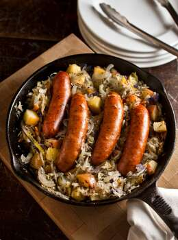 "Kielbasa (keel-BAH-sa): Smoked Polish sausage. Audio: Click here to hear the term ""Kielbasa."" Photo: Bill Hogan, MCT / Chicago Tribune"