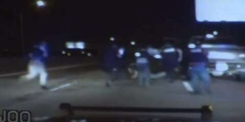 Dashcam video shows police chase, arrest of 'American Sniper