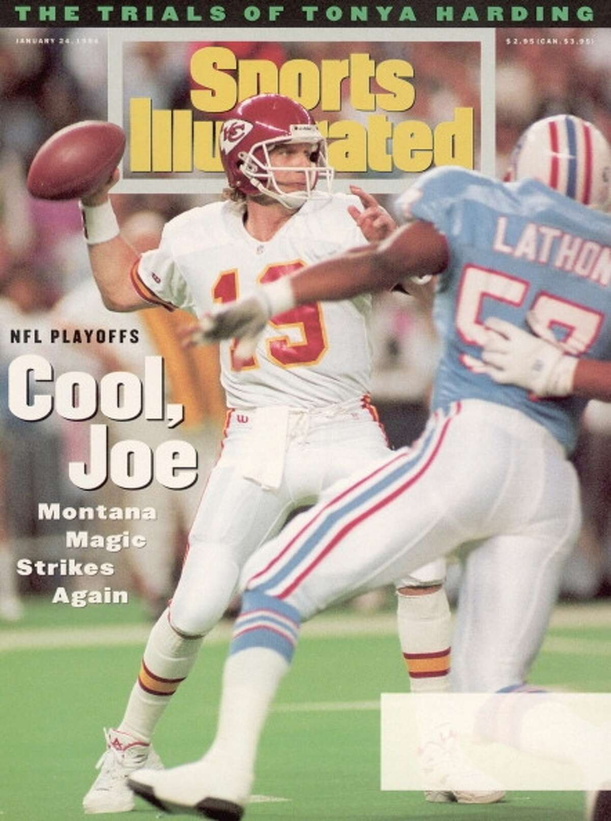 What life was like in 1994 The Kansas City Chiefs haven't won a playoff game since Jan. 16, 1994 -- a drought of more than 8,000 days. Their last win came in a 28-20 game against the Houston Oilers.