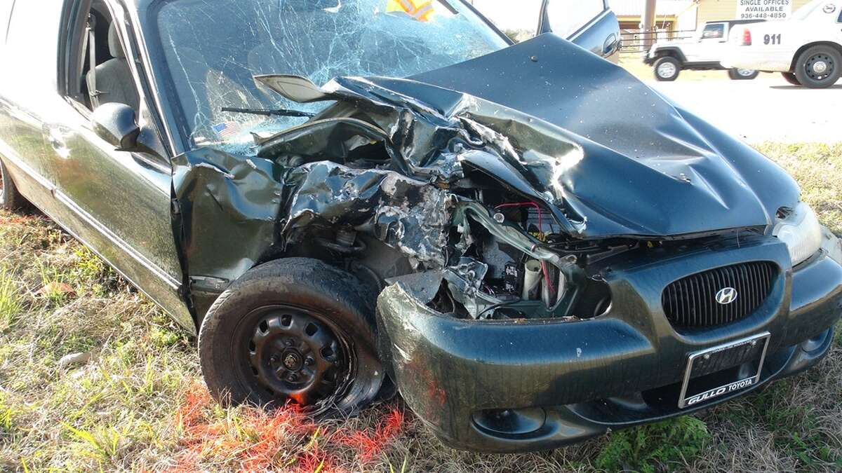 A 17-year-old high school student was killed Friday, Feb. 13, 2015 when his motorcycle collided with car in Montgomery County. (Photo courtesy Montgomery County Police Reporter)