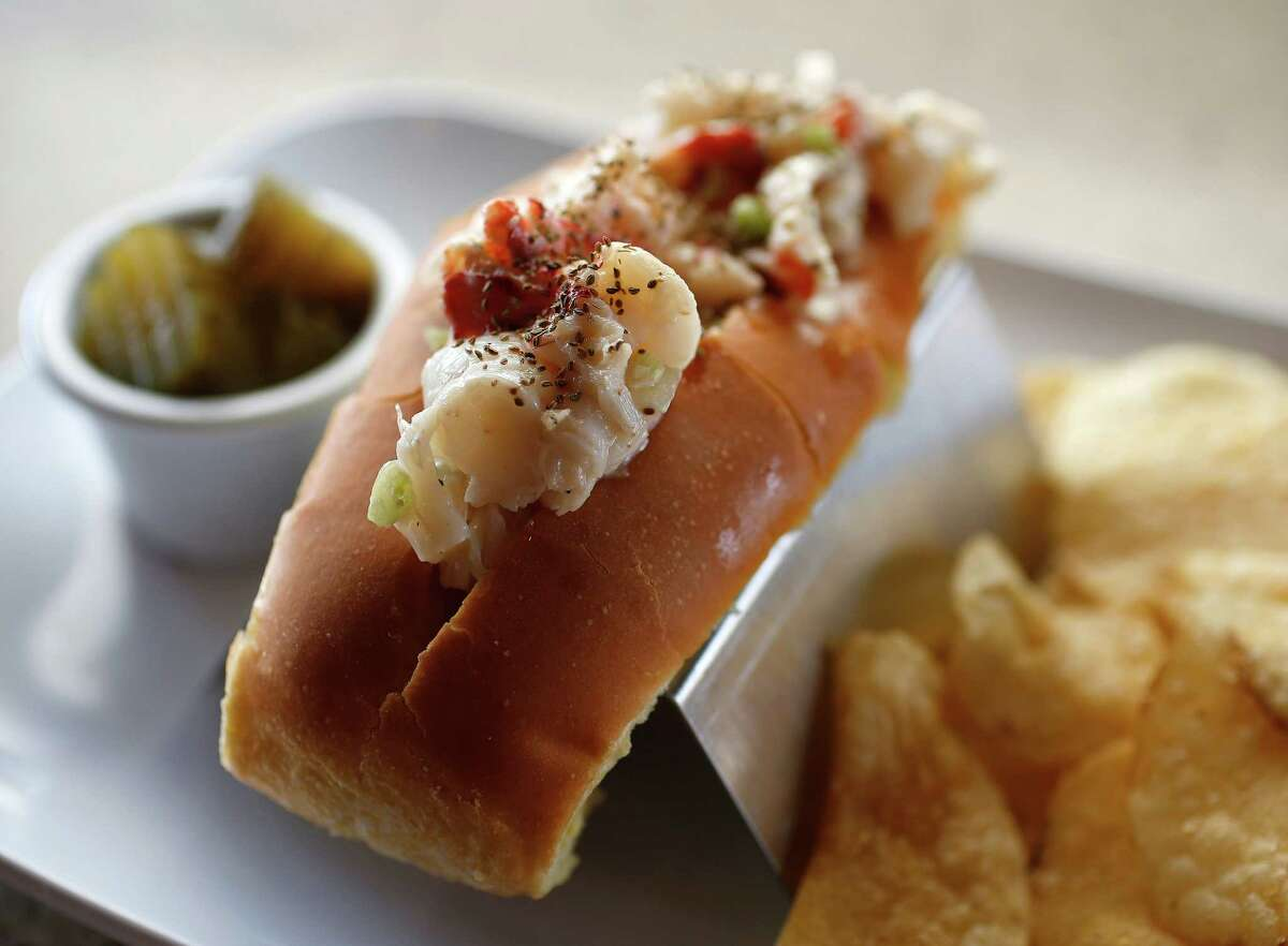 The Lobster Roll at Table 57, a new restaurant opening in H-E-B's new store at 5895 San Felipe.