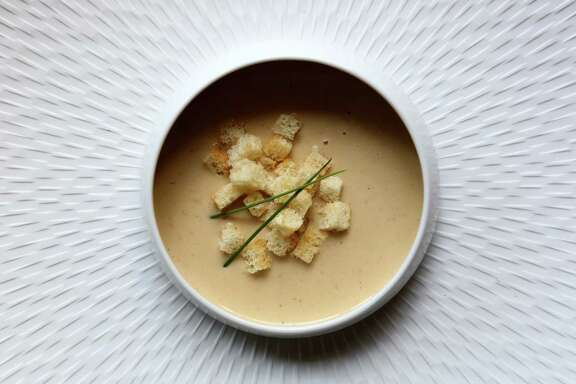 Onioin and Apple Bisque