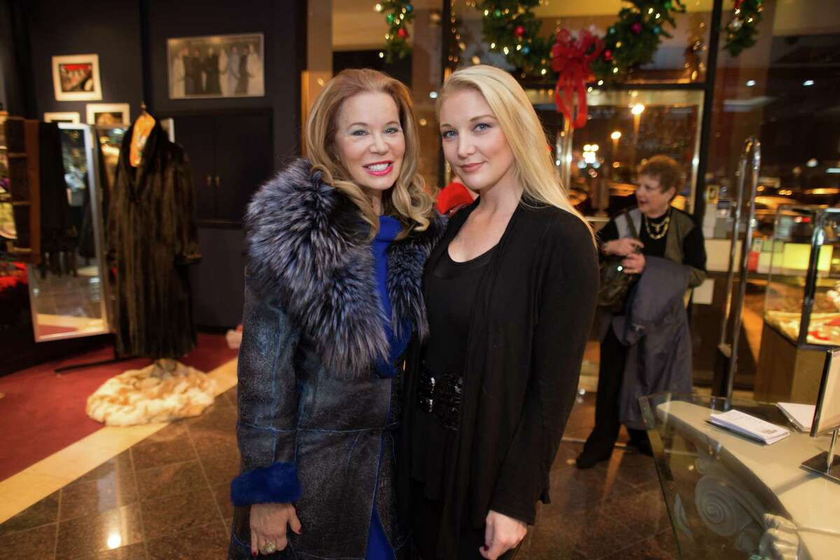 Cindi Rose and Magan M. Hunt at Houston Jewelry.