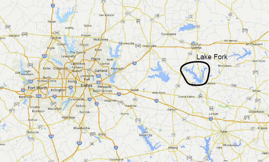 Dallas Lake Fork From Google Maps Photo-7523451.103223 ...