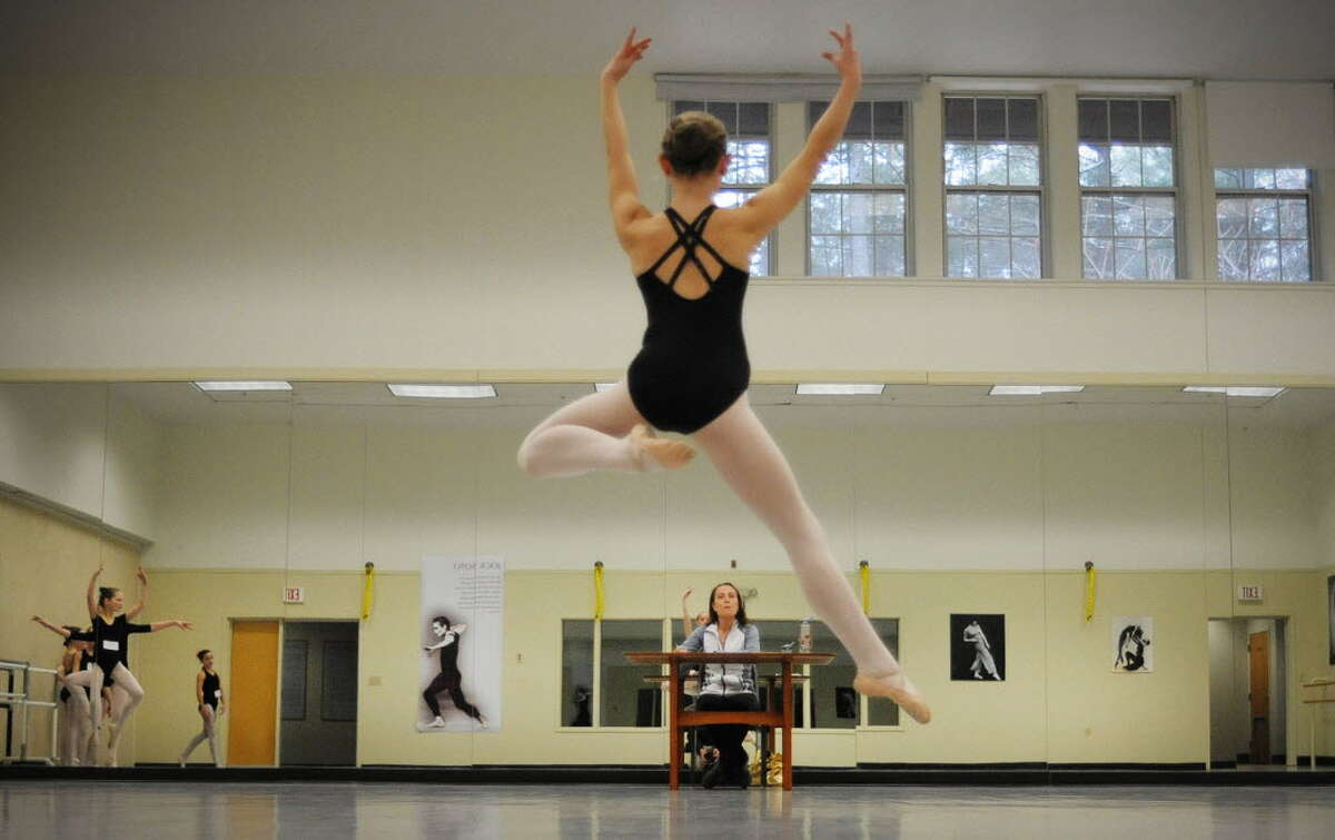 The National Museum of Dance's School of the Arts held auditions in 2013 for a chance to perform with the New York City Ballet. The school is holding auditions Feb. 21 for its second summer intensive in Saratoga Springs. (Times Union archive)