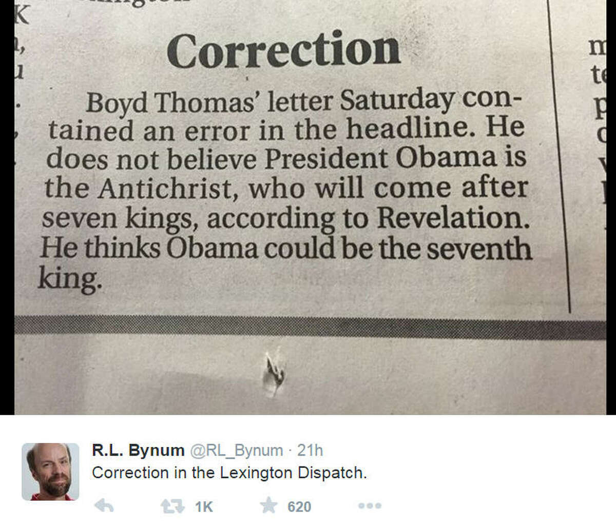 From the Lexington Dispatch.