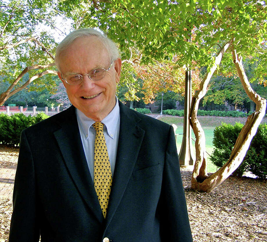 "David L. Holmes, author of ìThe Faiths of the Postwar Presidents,"" will address the faith of George H.W. Bush at the former president's home church, Christ Church Greenwich, on Sunday. Photo: Contributed Photo / Greenwich Time Contributed"