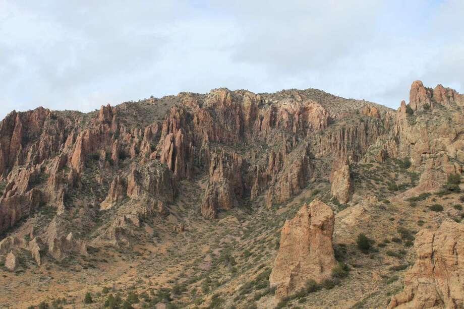 The Chisos Mountains at Big Bend National Park. Photo: Karen-Lee Ryan, Freelancer / San Antonio Express-News