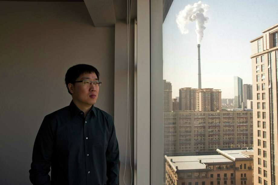"Wang Qinglei, a former producer for China Central Television, was fired in 2013 for publicly denouncing propaganda on the state-owned network. ""A nation's TV station is the face for the entire nation,"" he said. Photo: THE NEW YORK TIMES, STR / THE NEW YORK TIMES"