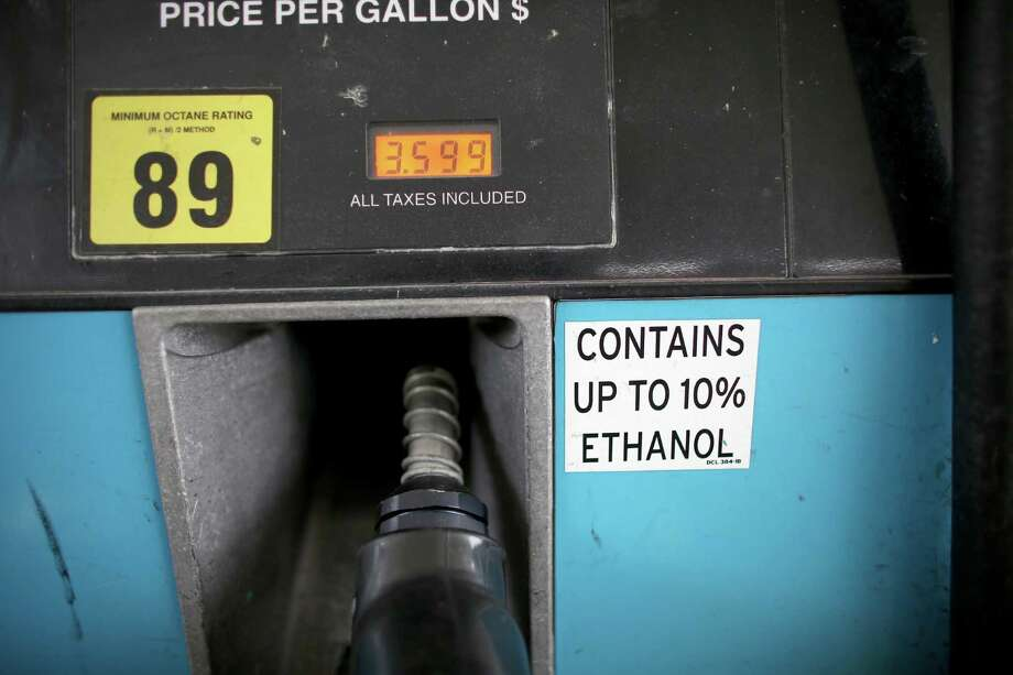Telling refiners to increase the volume of ethanol consumed could require them to blend in more than 10 percent ethanol, and most U.S. vehicles can't handle that. Photo: Getty Images File Photo / 2013 Getty Images