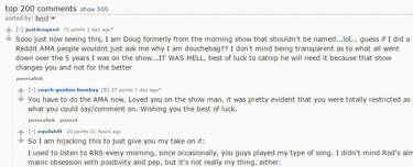 Rod Ryan Show's fired co-host spills guts on Reddit