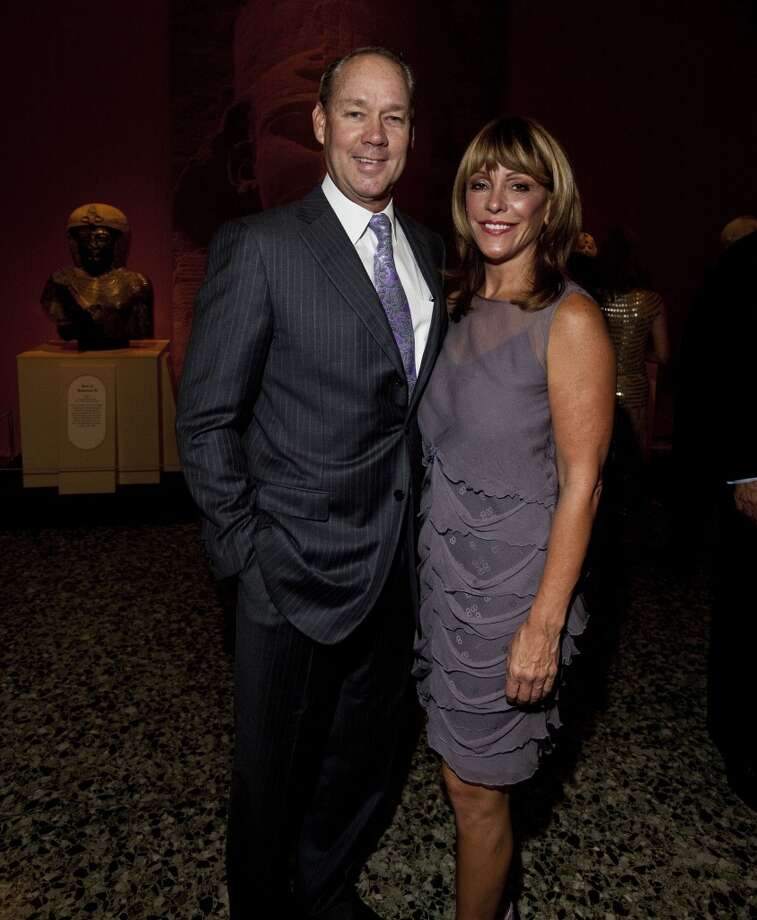 Jim Crane and Franci NeelyAstros owner Jim Crane and