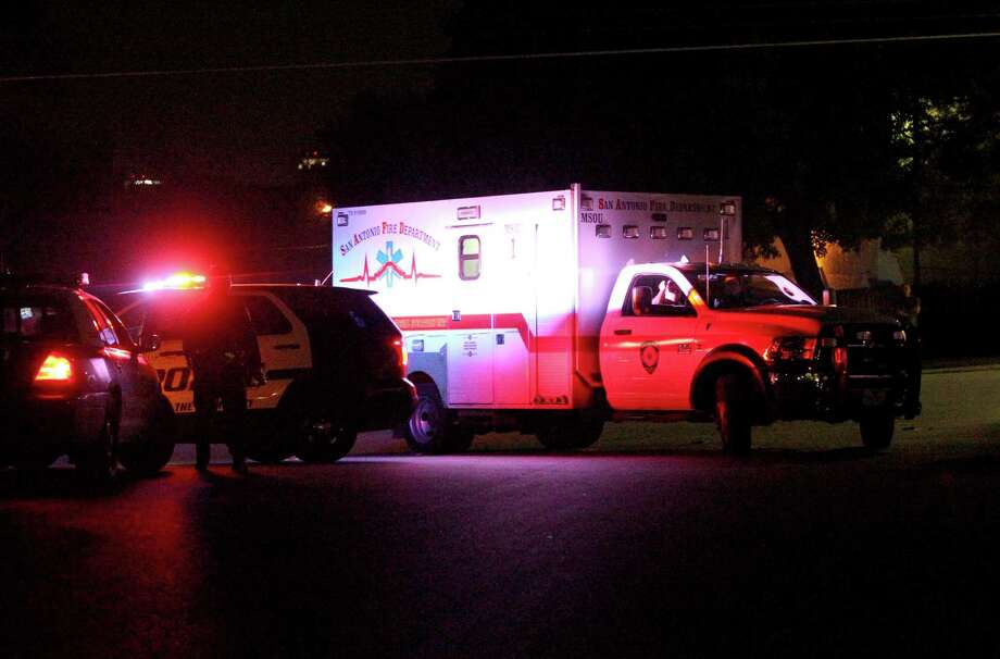 The San Antonio Police Department says a detective's vehicle was shot at on Friday evening while the detective was investigating a homicide from Thursday night at the 200 block of Rainbow Drive on the city's Northeast Side. 