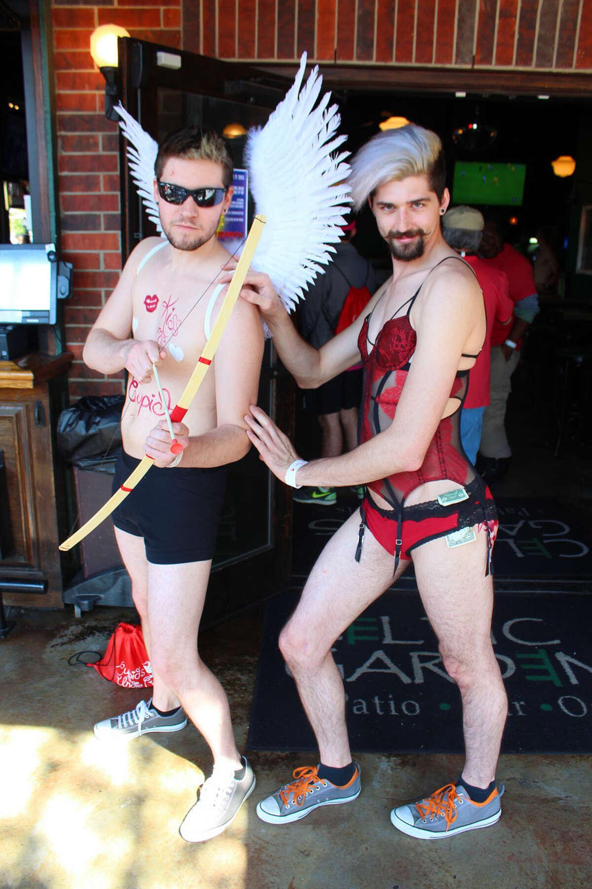 Cupid's Undies Run Houston 2015