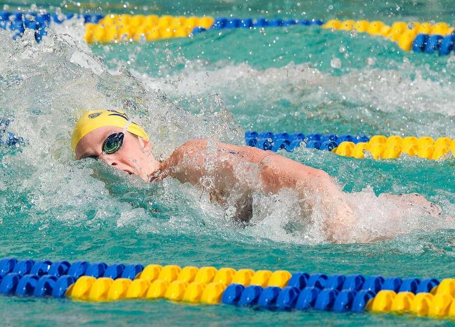 Missy Franklin in a women's swim meet vs Stanford at Berkeley. Photo: Norbert Von Der Groeben/Isiphoto