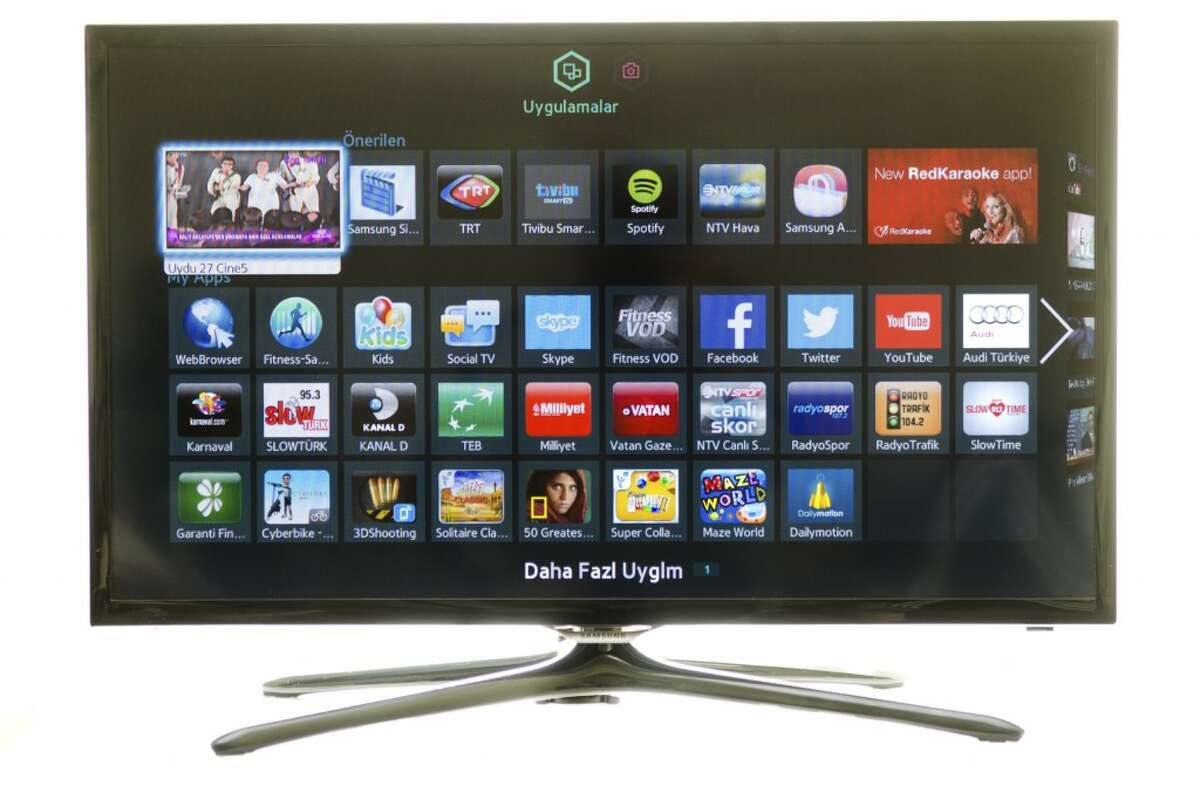Samsung Smart TVs feature voice-recognition technology. (Photo courtesy of iStock)