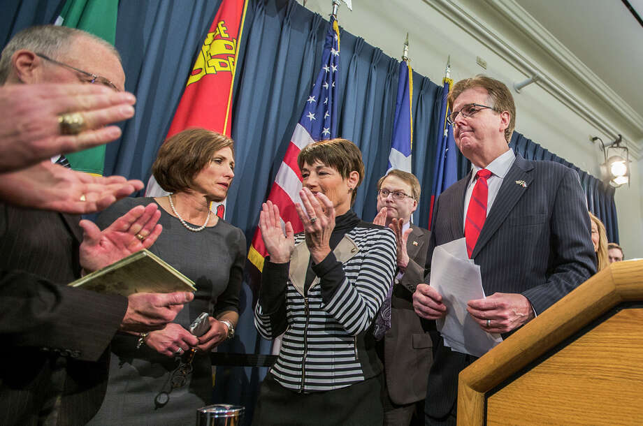 Lieutenant Gov. Dan Patrick says he intends to get bills to the House in 60 days, and he feels he has a conservative mandate from the electorate. Photo: Ricardo Brazziell, MBO / Austin American-Statesman