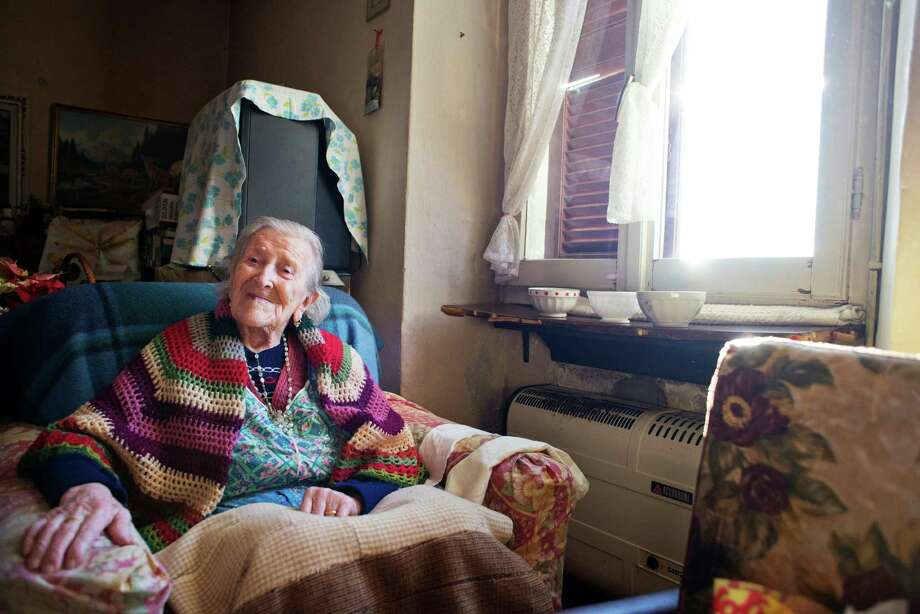 Emma Morano, 115, credits raw eggs and being single for her longevity. She is the oldest person in Italy and in Europe, and the fifth oldest in the world. Photo: ALESSANDRO GRASSANI, STR / NYTNS