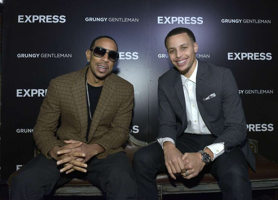 NEW YORK, NY - FEBRUARY 13:  Ludacris and Stephen Curry attend the EXPRESS Launch Party For Menswear Brand Ambassador Stephen Curry on February 13, 2015 in New York City.  (Photo by Eugene Gologursky/Getty Images for Express) Photo: Eugene Gologursky, Getty Images For Express