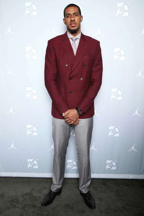 IMAGE DISTRIBUTED FOR JORDAN BRAND - LaMarcus Aldridge attends the Jordan Brand 30 Years of Greatness Celebration on Friday, Feb. 13, 2015 in New York. (Photo by Omar Vega/Invision for Jordan Brand/AP Images) Photo: Omar Vega, INVL / Invision