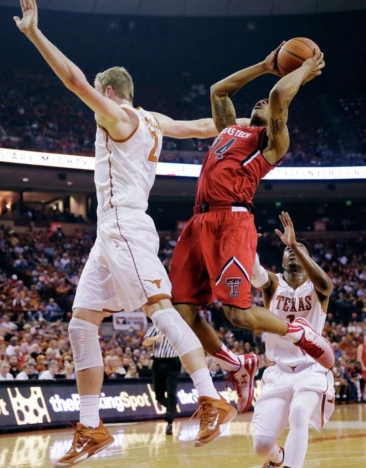 10. Texas TechTubby Smith's Red Raiders didn't get much love from his fellow coaches. Texas Tech finished a woeful 3-15 in Big 12 play last season and didn't have a single player average over 10.5 points per game. This team is in line for some progression though; the five freshmen who played significant minutes last season should be better prepared to handle the rigors of Big 12 conference play. Photo: Eric Gay, Associated Press / AP
