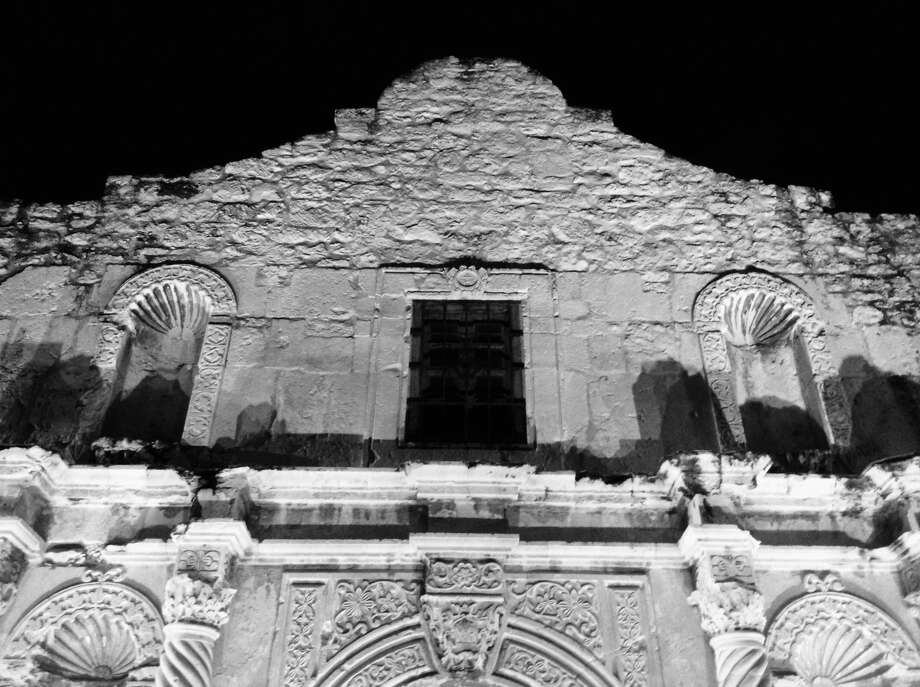 As iconic a shape as the top of the Alamo is for San Antonio, one must remember that it wasn't there at the time of the famed 1836 battle. Photo: Robert Kolarik, San Antonio Express-News
