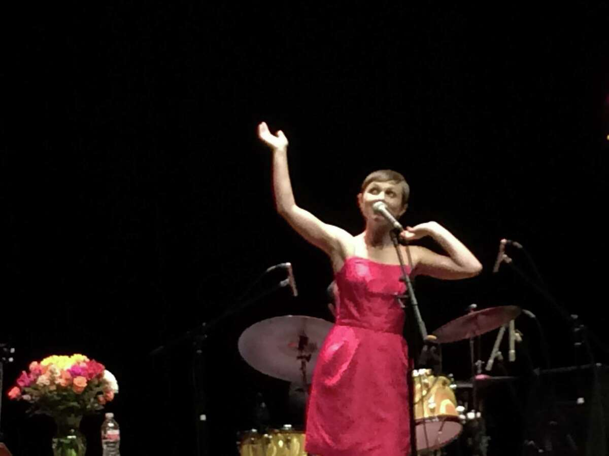 Singer-songwriter Kat Edmonson and her band play the Charline McCombs Empire Theatre.