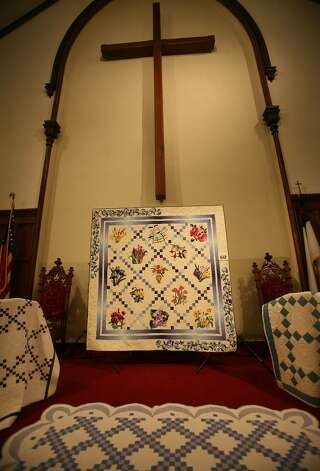 The annual quilt show at the Southport Congregational Church in Fairfield. Photo: Brian A. Pounds / Connecticut Post