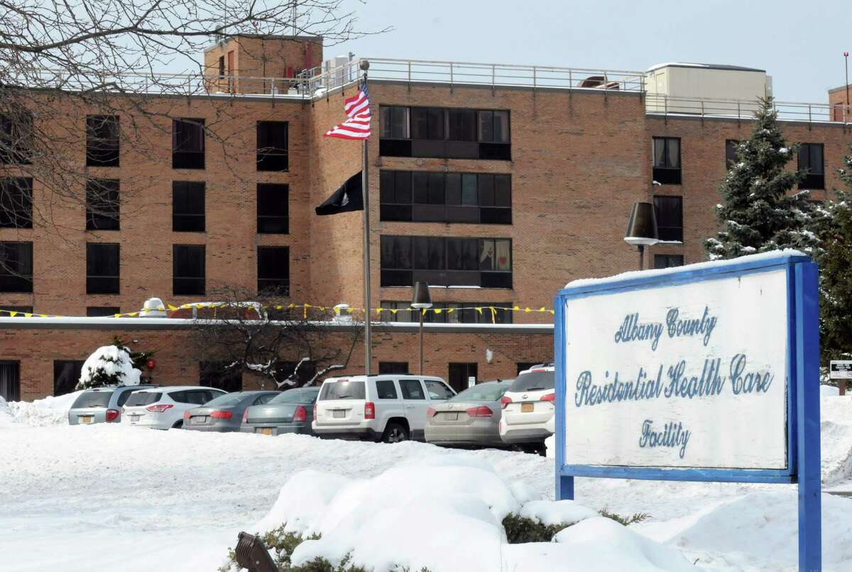 The Albany County Nursing Home at 780 Albany Shaker Road on Thursday Feb. 12, 2015 in Colonie, N.Y. (Michael P. Farrell/Times Union)