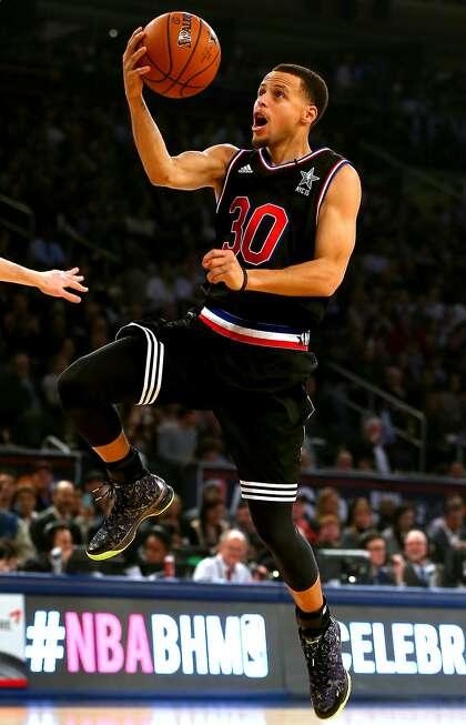 big sale 303a2 fa2a0 Warriors' Curry 'appreciative' of All-Star nod - ExpressNews.com