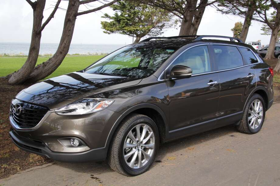 The 2015 Mazda CX-9 crossover SUV. (Photos by Michael Taylor)