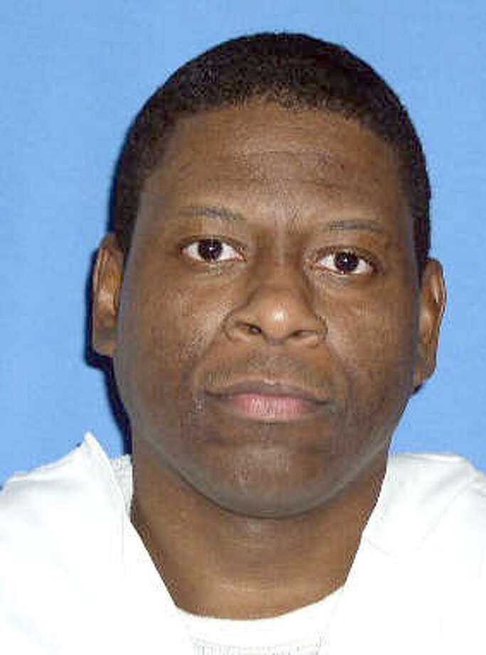 This photo provided by the Texas Department of Criminal Justice shows death row inmate Rodney Reed. Reed, a black Texas death row inmate who claims he had a clandestine relationship with a white woman, but did not rape or kill her, is asking the Supreme Court to take up his case. Reed tells the court that his trial lawyers did a poor job of defending him and suggests the victim's fiance, a local police officer now imprisoned for a sex crime, could have been the killer. (AP Photo/Texas Department of Criminal Justice) Photo: Anonymous, Courtesy Photo / Texas Department of Criminal Jus
