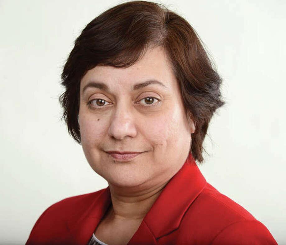Azra Haqqie Friday, Feb. 6, 2015, at the Times Union in Colonie, N.Y. Photo: WW, Will Waldron