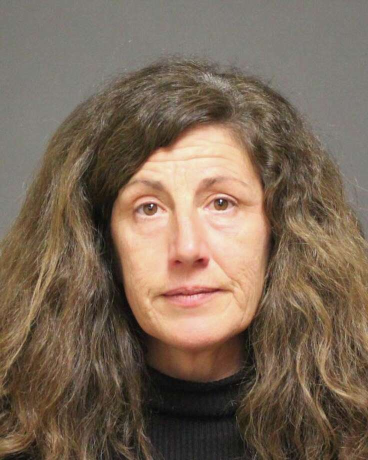 Megan Switzer, 49, of Norwalk, was arrested Sunday for trespassing. Photo: Contributed Photo /  Fairfield Citizen contributed