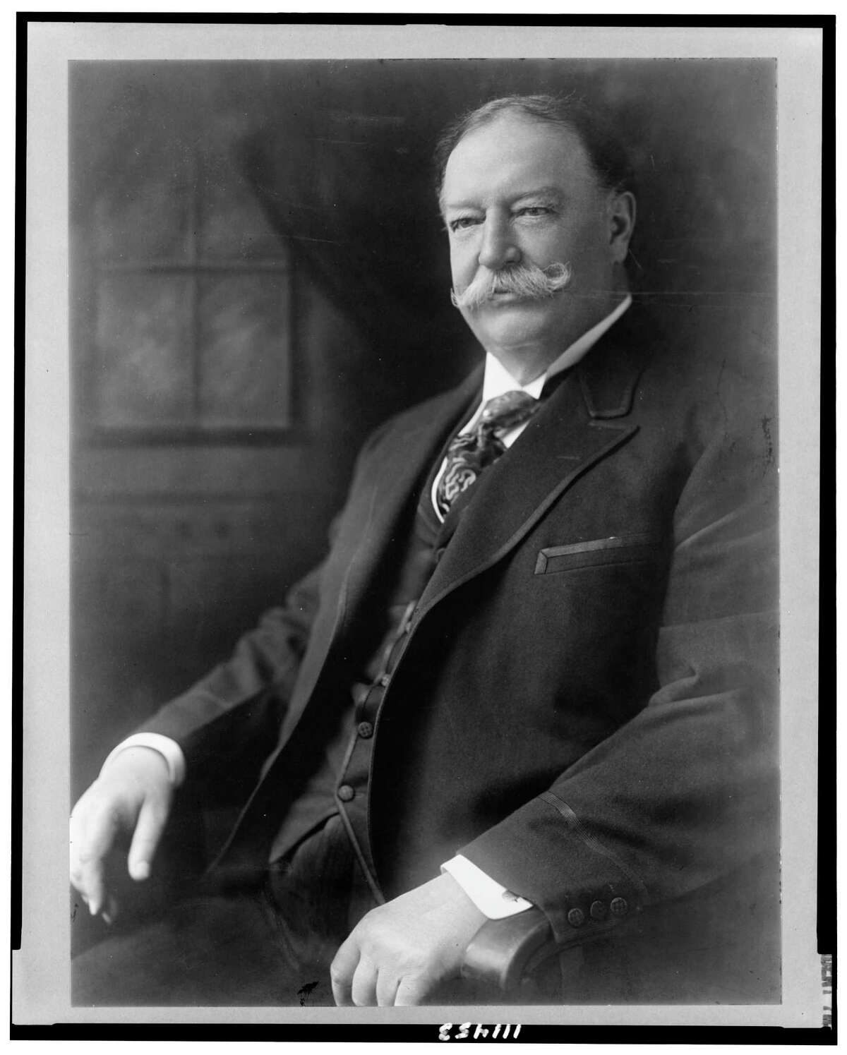 WILLIAM HOWARD TAFT, 1909-13 The 27th president had a wrestling background, as he was Yale's intramural heavyweight champion.