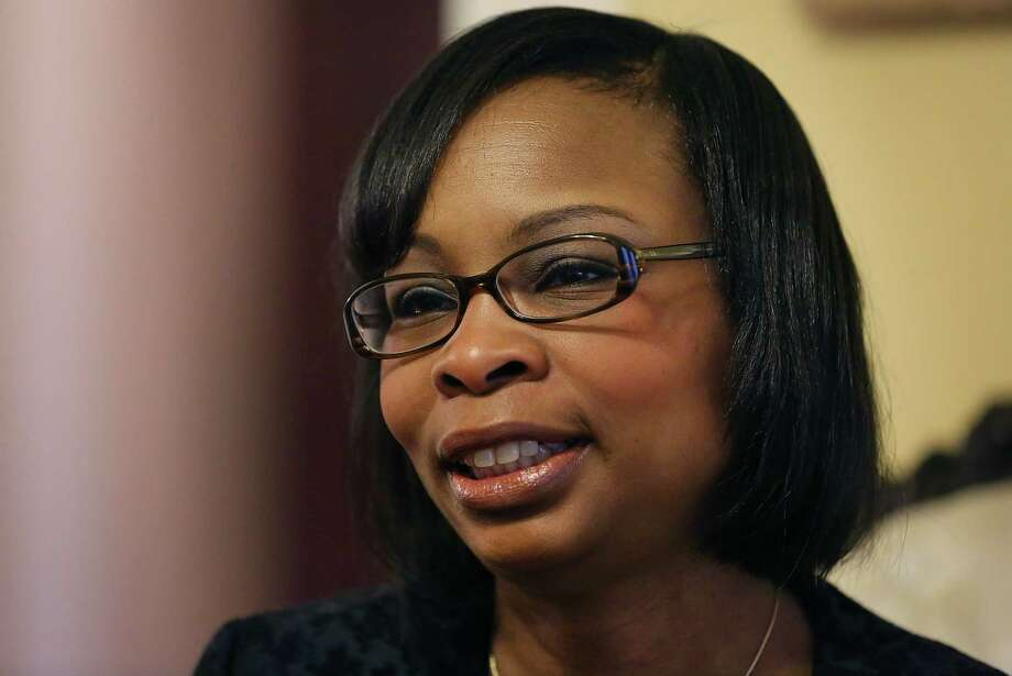 San Antonio Mayor Ivy Taylor will give the United State of the City address at a March 3 luncheon. Photo: Bob Owen /San Antonio Express-News / © 2015 San Antonio Express-News